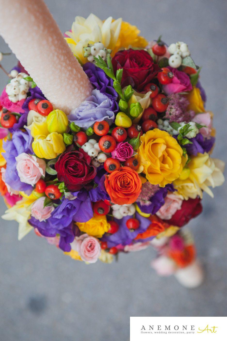 Poza, foto cu Flori de nunta lumanare botez, multicolor in Arad, Timisoara, Oradea (wedding flowers, bouquets) nunta Arad, Timisoara, Oradea