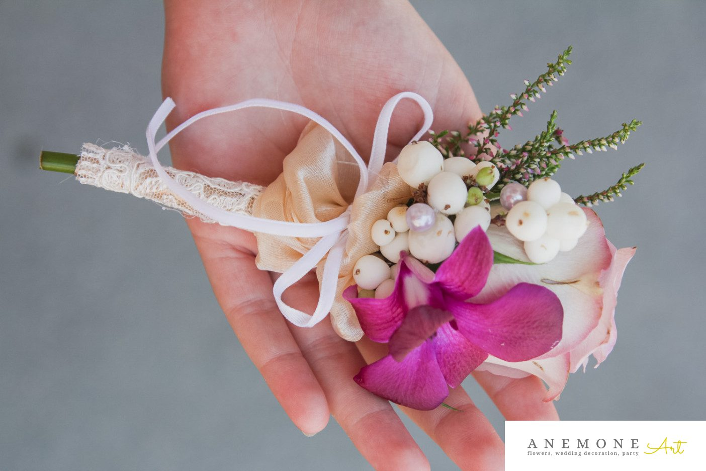 Poza, foto cu Flori de nunta cocarda, mire, roz, ticlam in Arad, Timisoara, Oradea (wedding flowers, bouquets) nunta Arad, Timisoara, Oradea