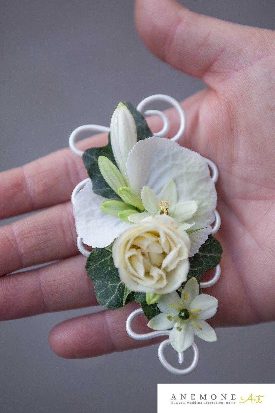 Poza, foto cu Flori de nunta butoniera, cocarda, mini-rosa, ornitogallum in Arad, Timisoara, Oradea (wedding flowers, bouquets) nunta Arad, Timisoara, Oradea