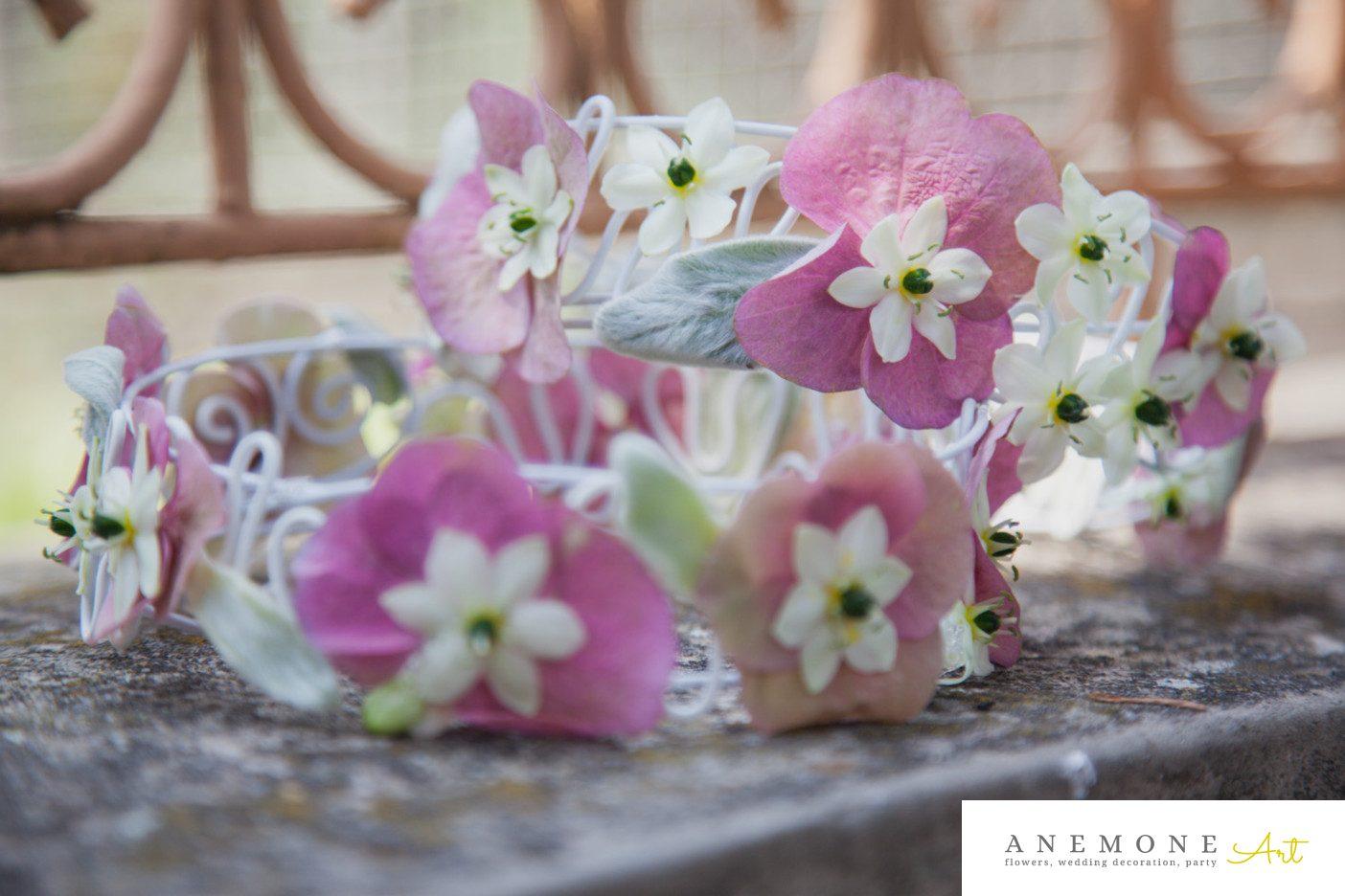 Poza, foto cu Flori de nunta coronita in Arad, Timisoara, Oradea (wedding flowers, bouquets) nunta Arad