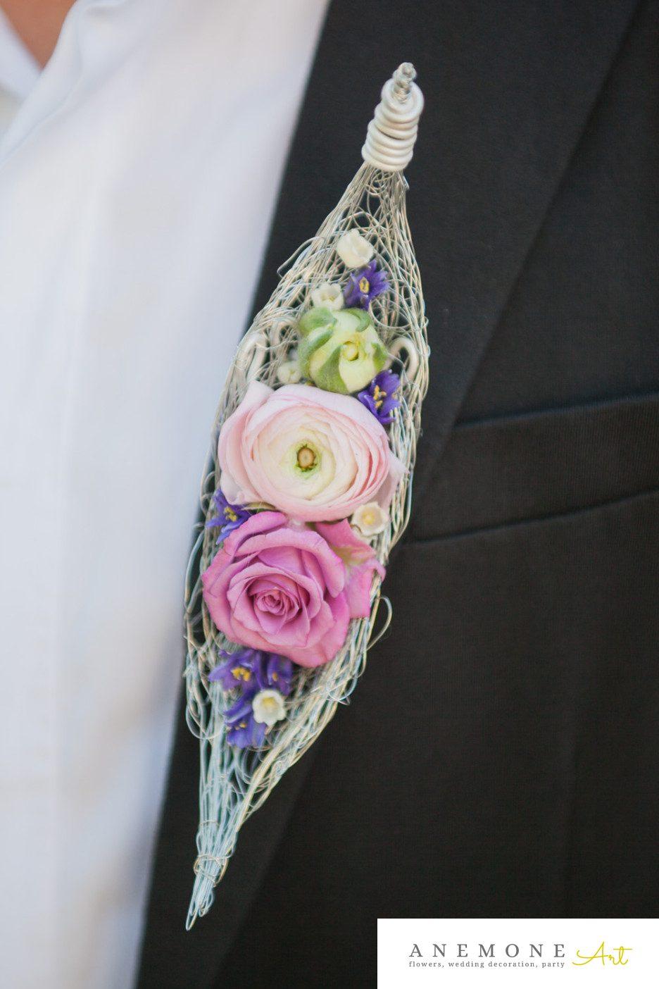 Poza, foto cu Flori de nunta cocarda, mini-rosa, mire, mov, ranunculus, roz in Arad, Timisoara, Oradea (wedding flowers, bouquets) nunta Arad, Timisoara, Oradea