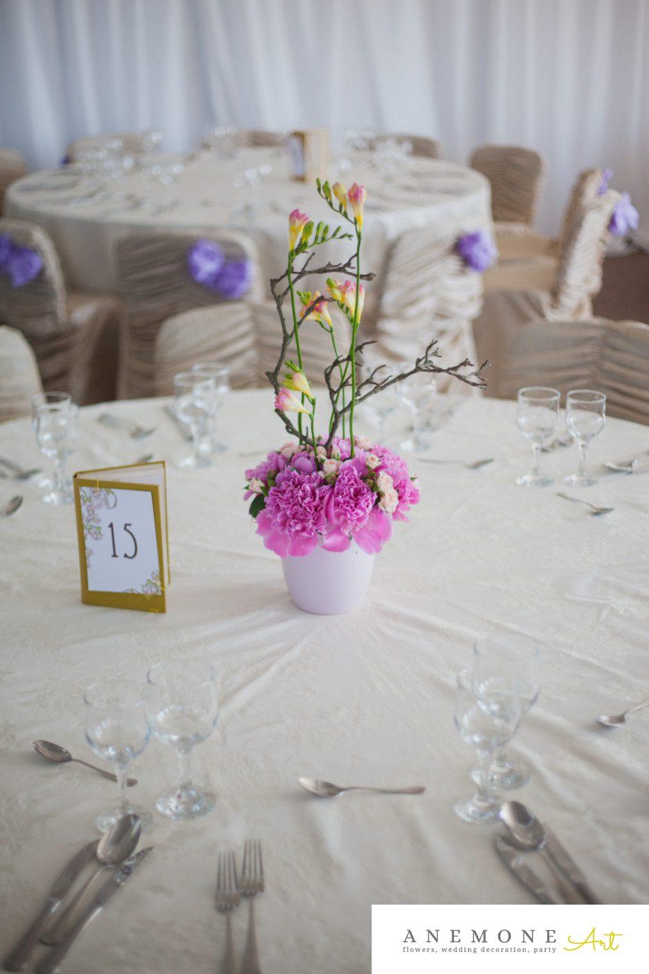 Poza, foto cu Flori de nunta decor masa in Arad, Timisoara, Oradea (wedding flowers, bouquets) nunta Arad