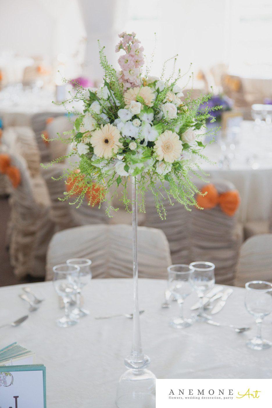Poza, foto cu Flori de nunta alb, crem, decor masa in Arad, Timisoara, Oradea (wedding flowers, bouquets) nunta Arad, Timisoara, Oradea