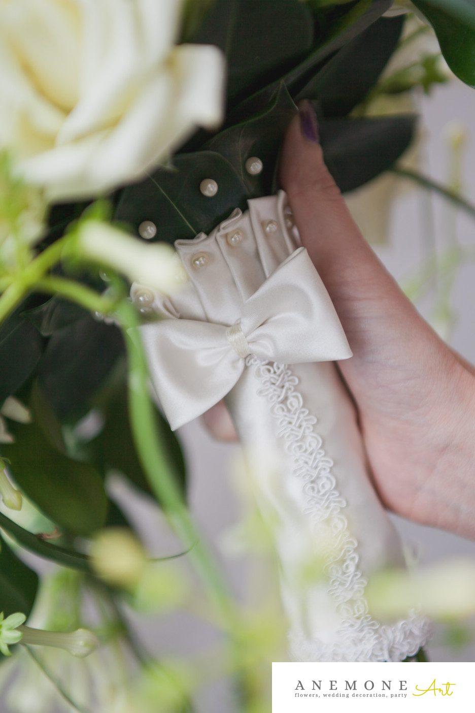 Poza, foto cu Flori de nunta buchet mireasa, maner buchet in Arad, Timisoara, Oradea (wedding flowers, bouquets) nunta Arad