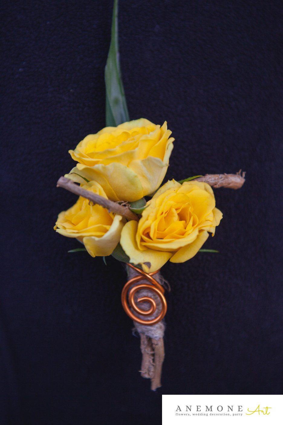 Poza, foto cu Flori de nunta cocarda, crengi, galben, mini-rosa in Arad, Timisoara, Oradea (wedding flowers, bouquets) nunta Arad, Timisoara, Oradea