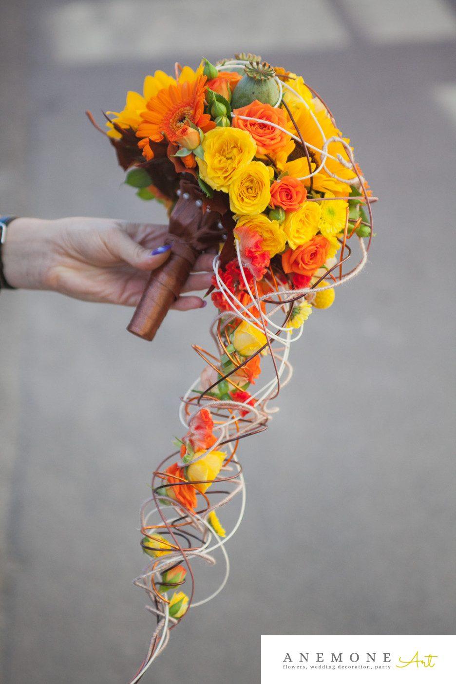 Poza, foto cu Flori de nunta buchet mireasa, curgator, maner buchet in Arad, Timisoara, Oradea (wedding flowers, bouquets) nunta Arad, Timisoara, Oradea
