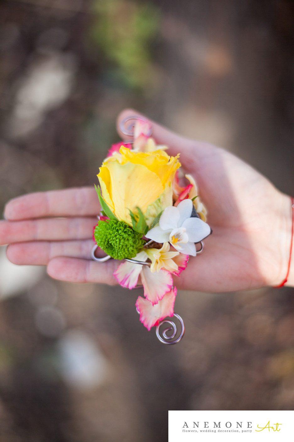 Poza, foto cu Flori de nunta cocarda, galben in Arad, Timisoara, Oradea (wedding flowers, bouquets) nunta Arad, Timisoara, Oradea