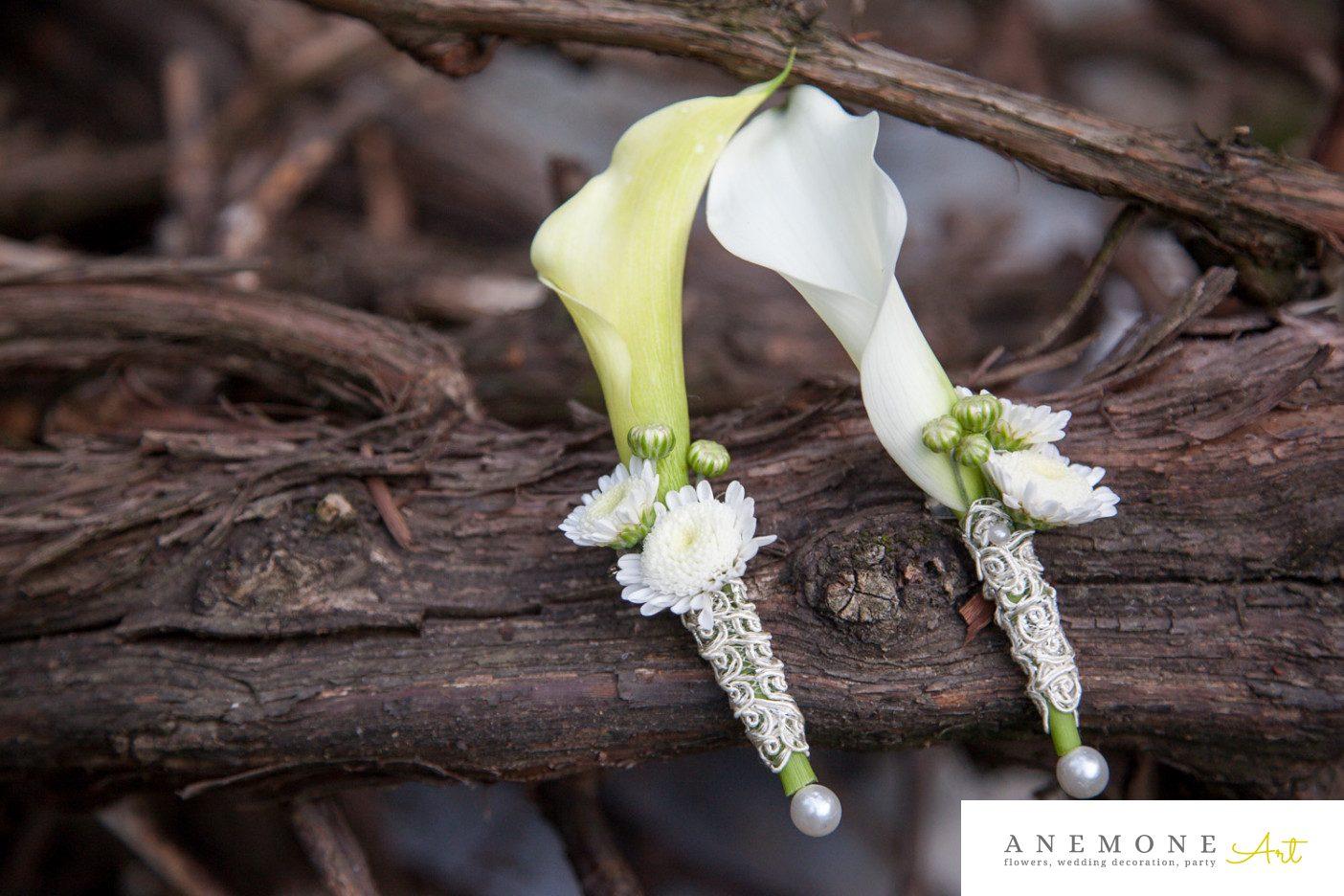 Poza, foto cu Flori de nunta alb, calla, cocarda, crem in Arad, Timisoara, Oradea (wedding flowers, bouquets) nunta Arad, Timisoara, Oradea