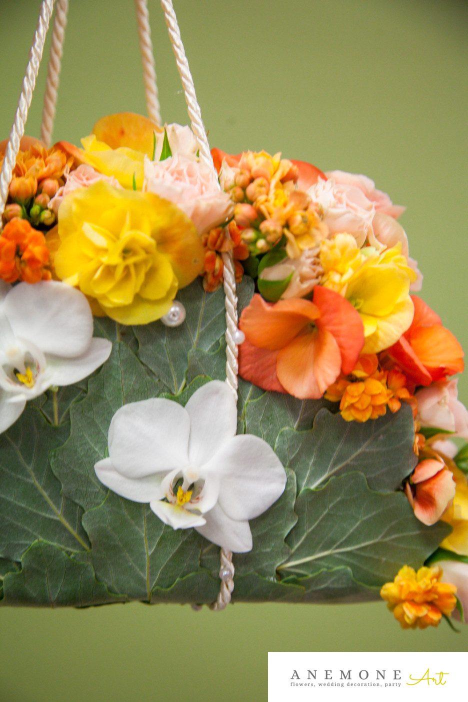 Poza, foto cu Flori de nunta galben, orhidee, phalaenopsis, portocaliu, poseta in Arad, Timisoara, Oradea (wedding flowers, bouquets) nunta Arad, Timisoara, Oradea