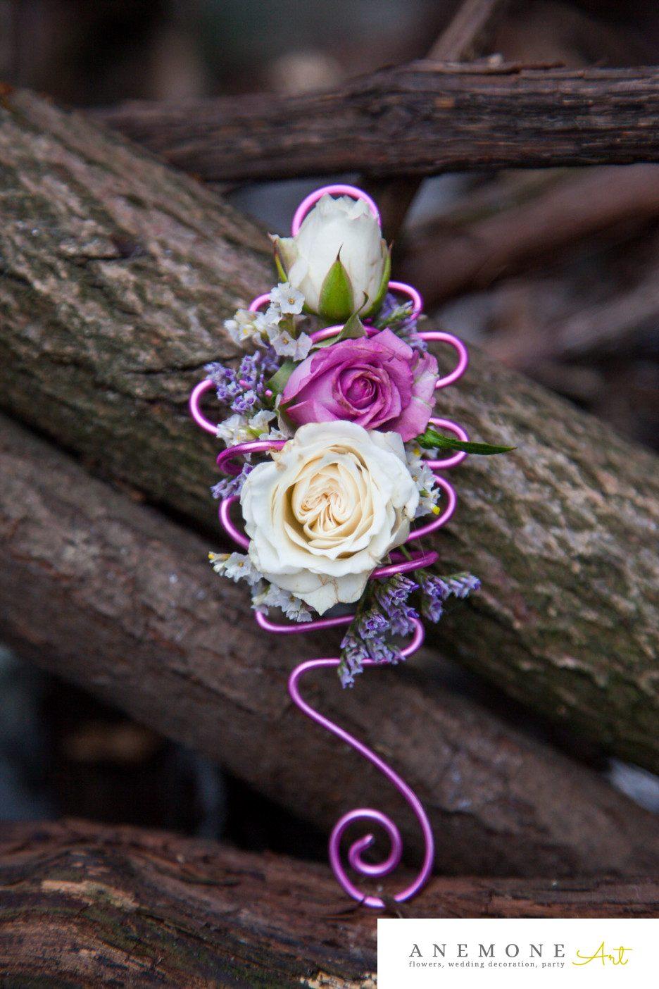 Poza, foto cu Flori de nunta cocarda, mov, trandafiri in Arad, Timisoara, Oradea (wedding flowers, bouquets) nunta Arad, Timisoara, Oradea