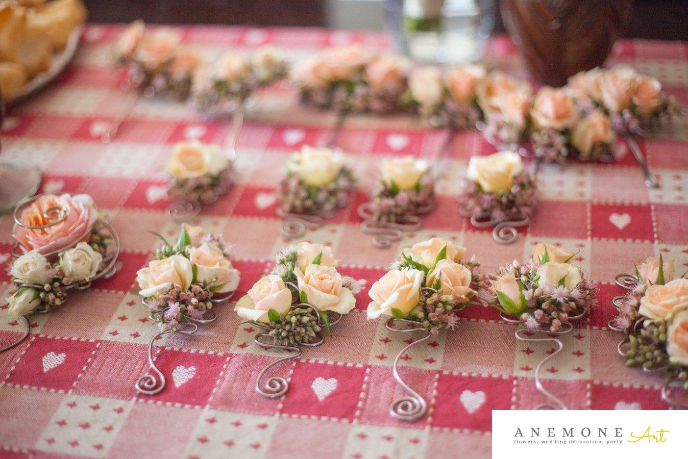 Poza, foto cu Flori de nunta cocarda, piersica in Arad, Timisoara, Oradea (wedding flowers, bouquets) nunta Arad, Timisoara, Oradea