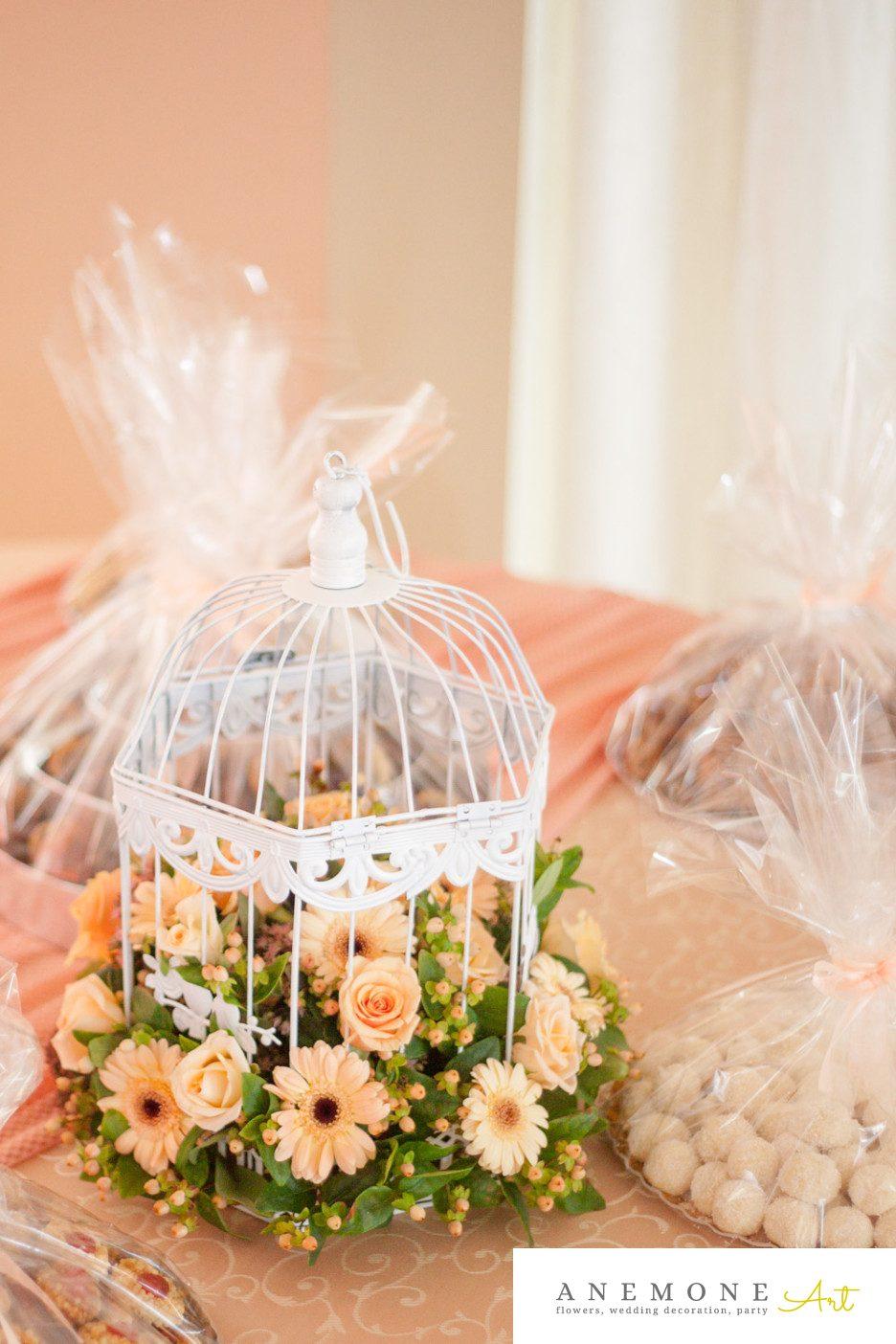 Poza, foto cu Flori de nunta colivie, decor sala in Arad, Timisoara, Oradea (wedding flowers, bouquets) nunta Arad