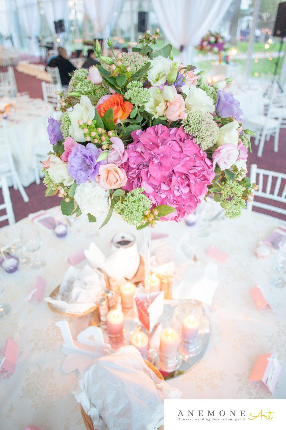 Poza, foto cu Flori de nunta decor masa in Arad, Timisoara, Oradea (wedding flowers, bouquets) nunta Arad, Timisoara, Oradea