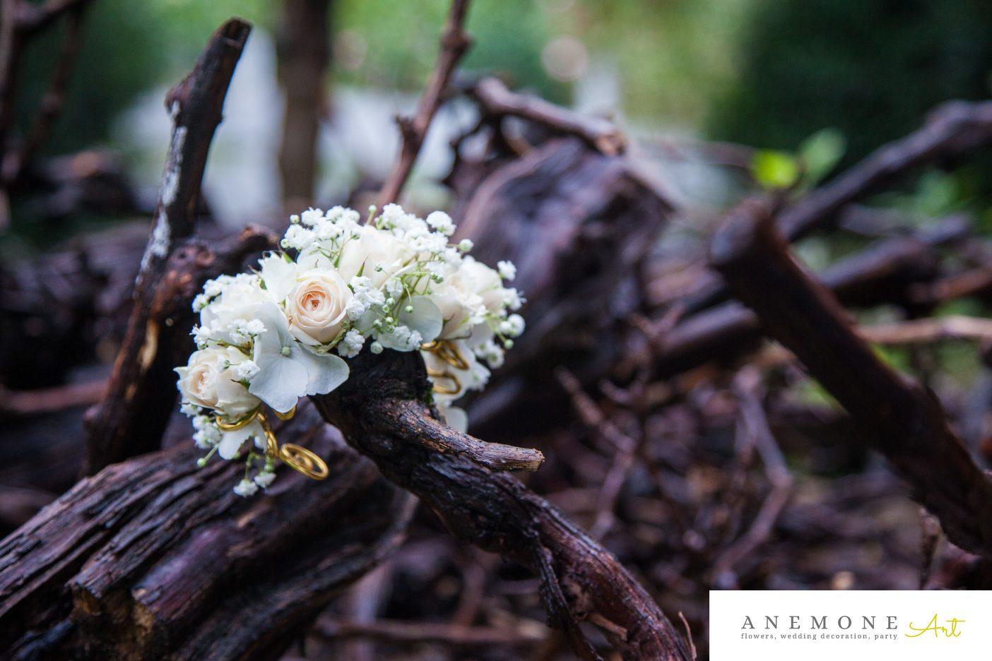 Poza, foto cu Flori de nunta bratara, hortensia in Arad, Timisoara, Oradea (wedding flowers, bouquets) nunta Arad