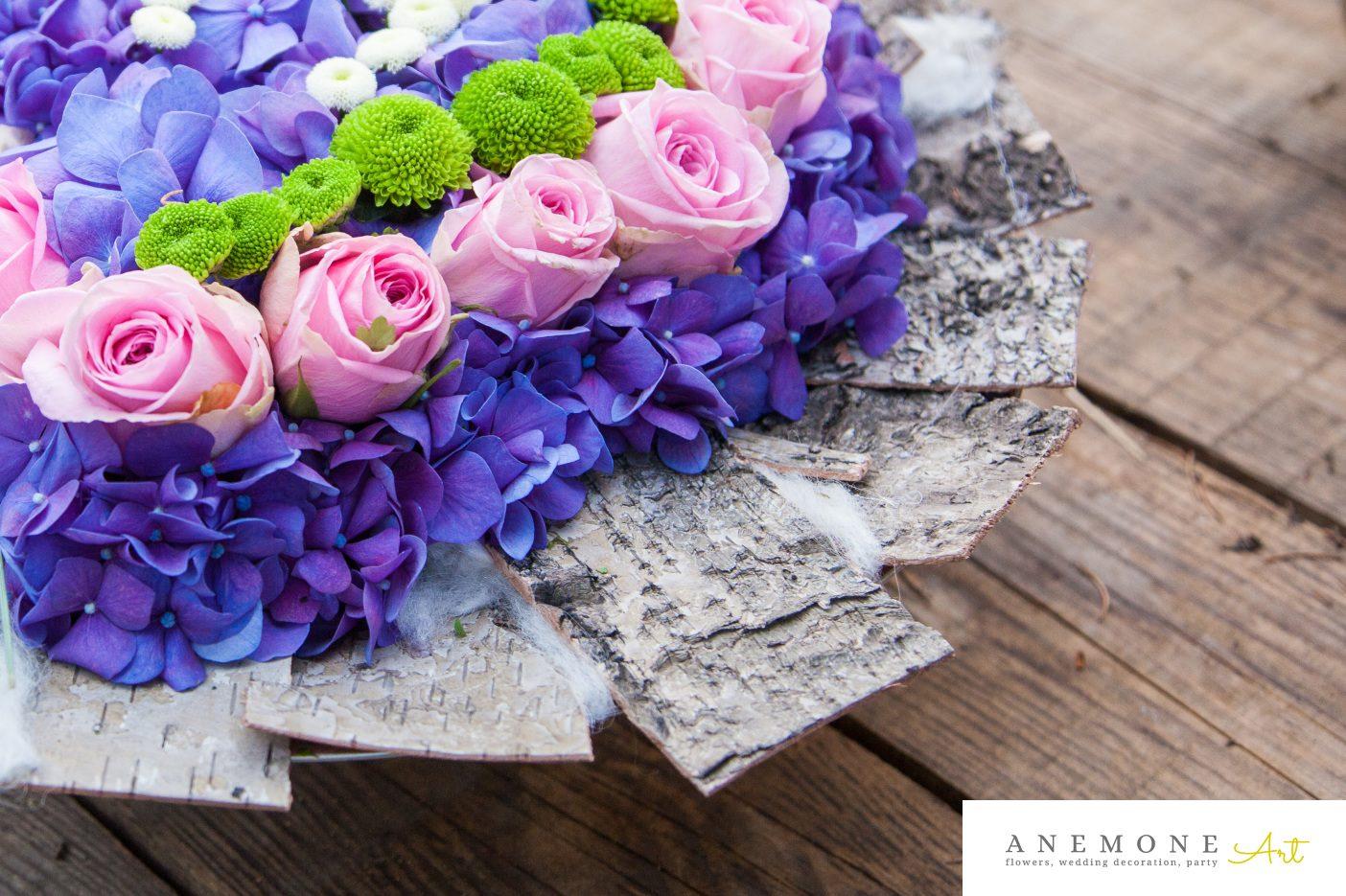 Poza, foto cu Flori de nunta aniversare, decor tematic, detaliu, hortensia, inima, trandafiri in Arad, Timisoara, Oradea (wedding flowers, bouquets) nunta Arad, Timisoara, Oradea