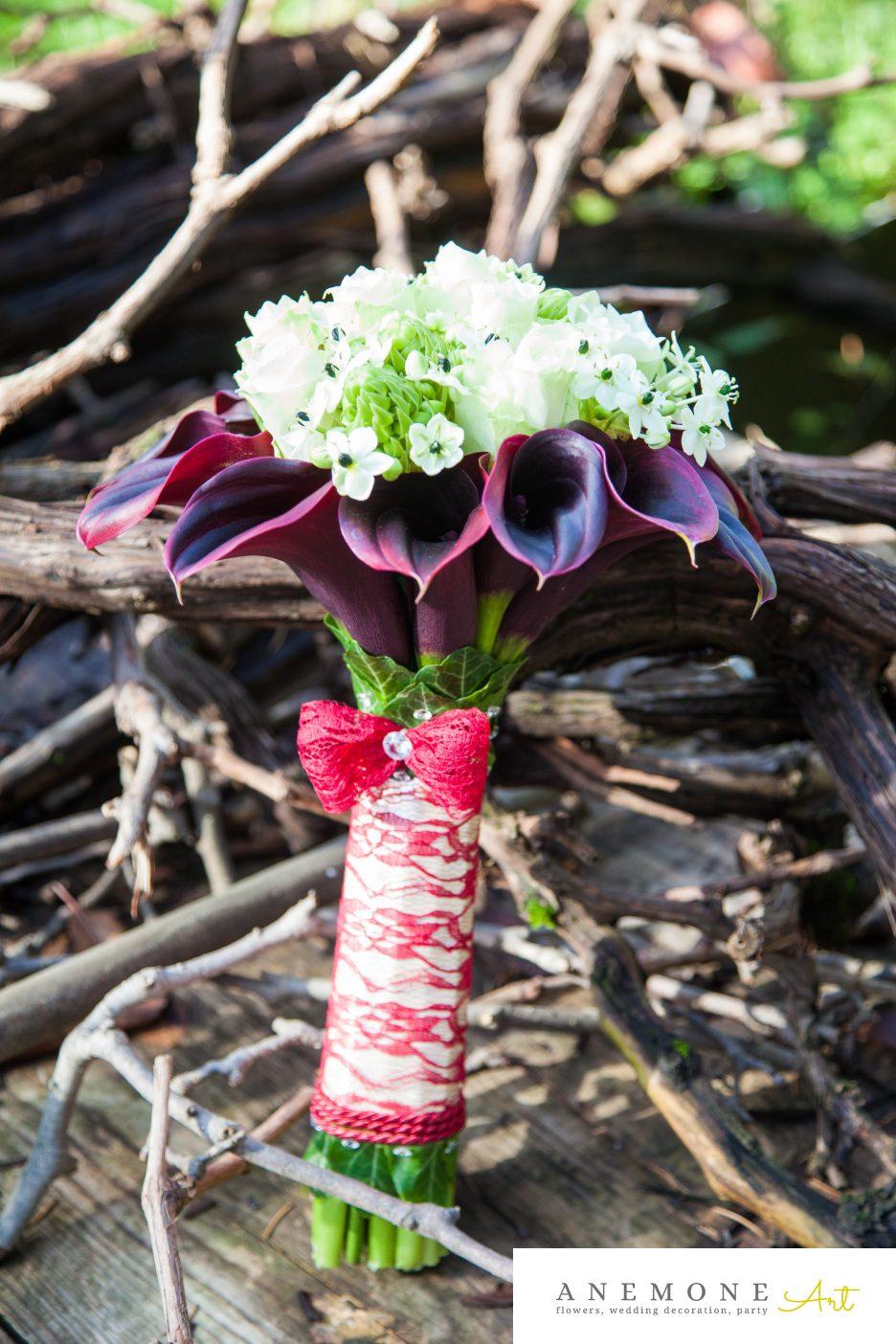 Poza, foto cu Flori de nunta buchet mireasa, calla, maner buchet in Arad, Timisoara, Oradea (wedding flowers, bouquets) nunta Arad, Timisoara, Oradea
