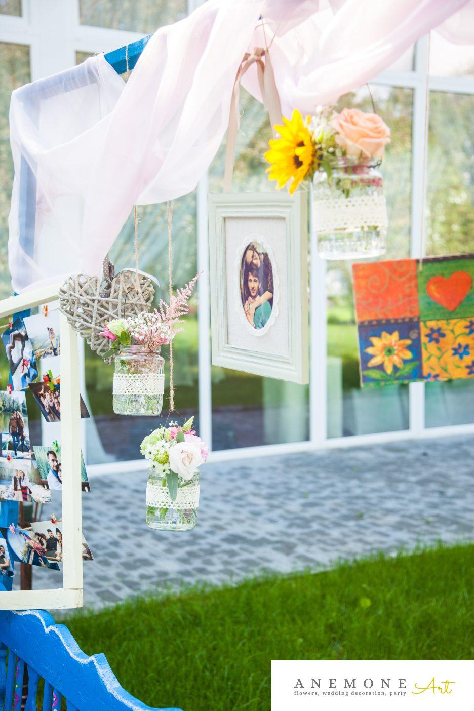 Poza, foto cu Flori de nunta decor colt photo in Arad, Timisoara, Oradea (wedding flowers, bouquets) nunta Arad, Timisoara, Oradea