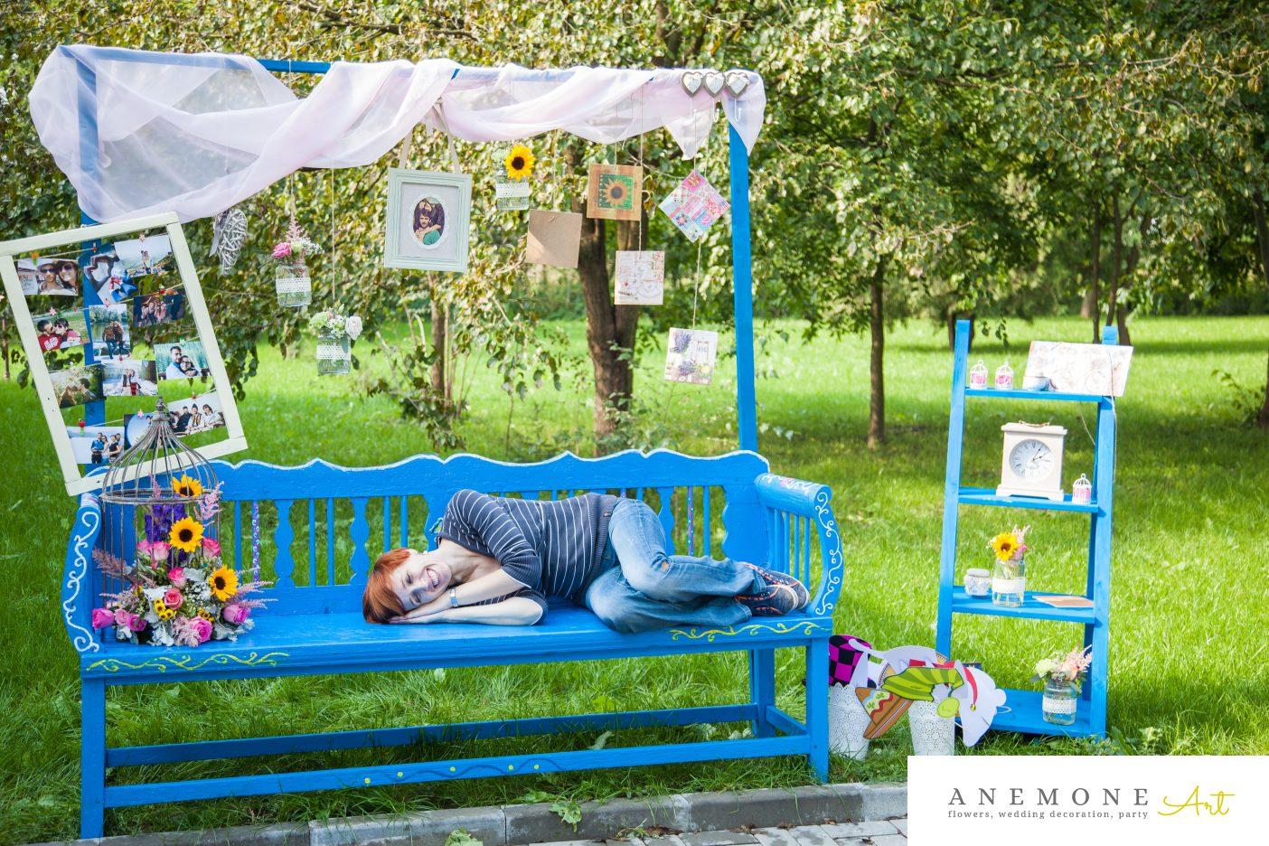Poza, foto cu Flori de nunta colivie, decor colt photo in Arad, Timisoara, Oradea (wedding flowers, bouquets) nunta Arad, Timisoara, Oradea