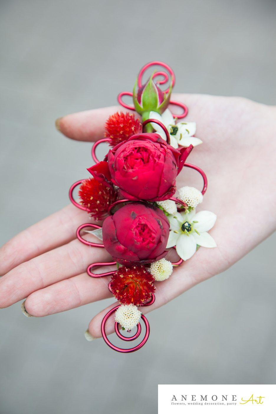 Poza, foto cu Flori de nunta cocarda, rosu in Arad, Timisoara, Oradea (wedding flowers, bouquets) nunta Arad, Timisoara, Oradea