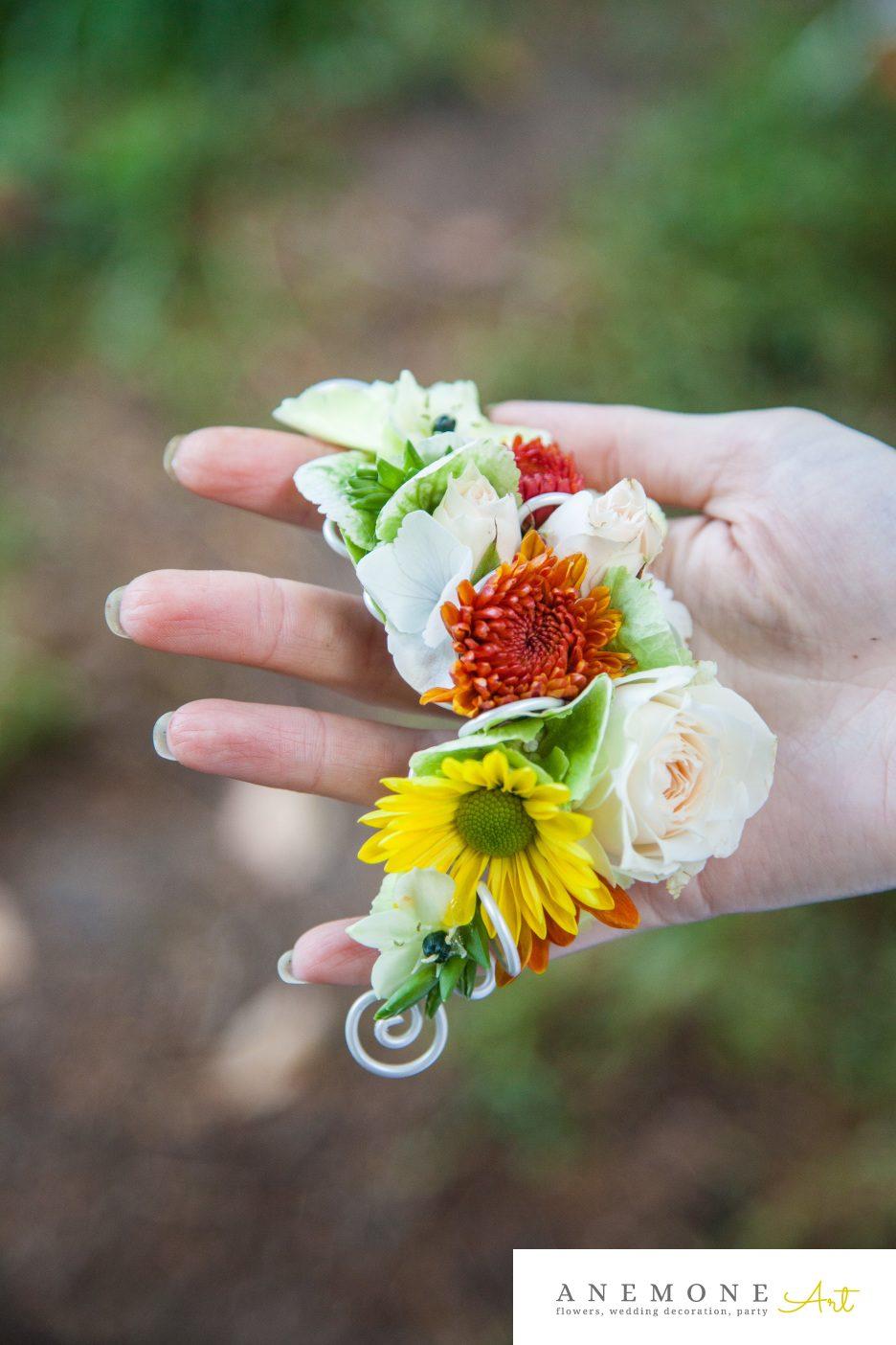 Poza, foto cu Flori de nunta aranjament par, caramiziu, portocaliu in Arad, Timisoara, Oradea (wedding flowers, bouquets) nunta Arad, Timisoara, Oradea