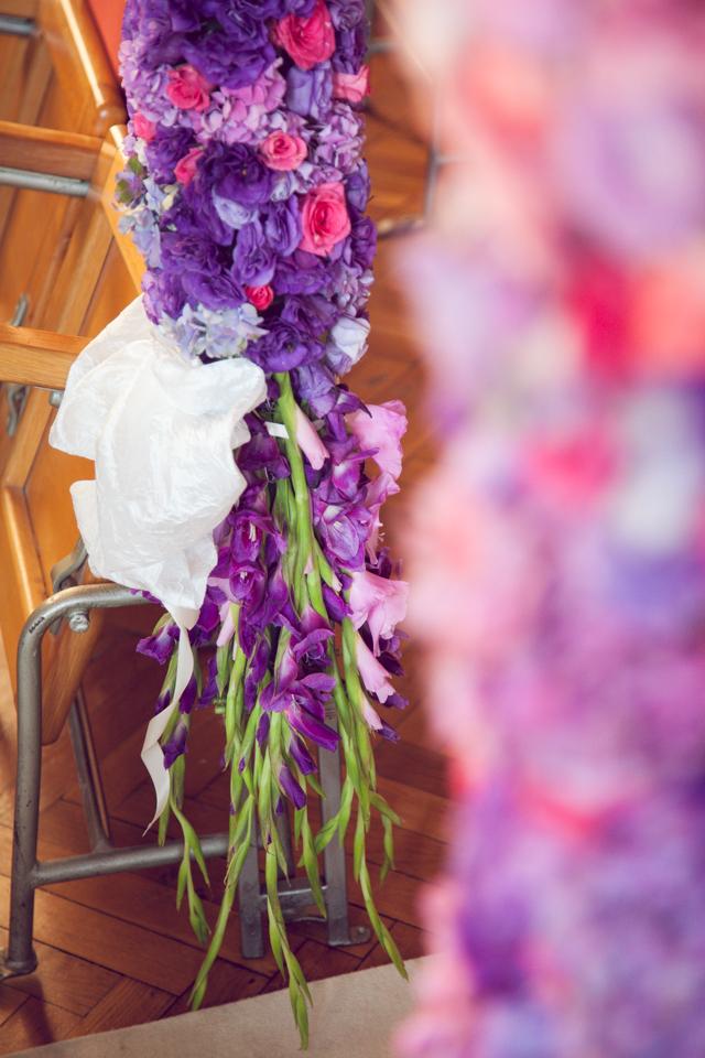 Poza, foto cu Flori de nunta arcada, decor biserica, detaliu in Arad, Timisoara, Oradea (wedding flowers, bouquets) nunta Arad, Timisoara, Oradea