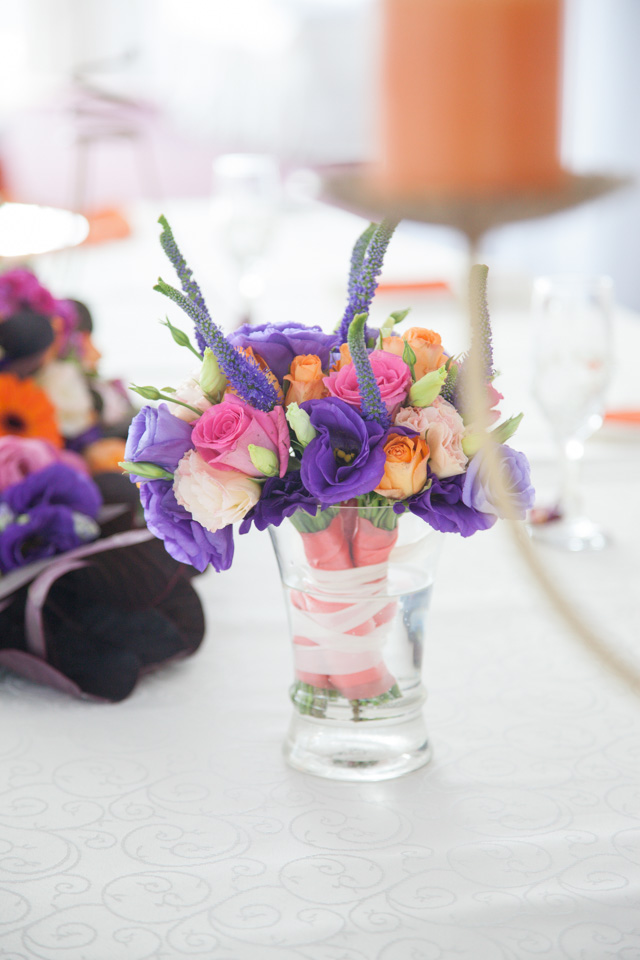 Poza, foto cu Flori de nunta buchet de aruncat, mov in Arad, Timisoara, Oradea (wedding flowers, bouquets) nunta Arad, Timisoara, Oradea
