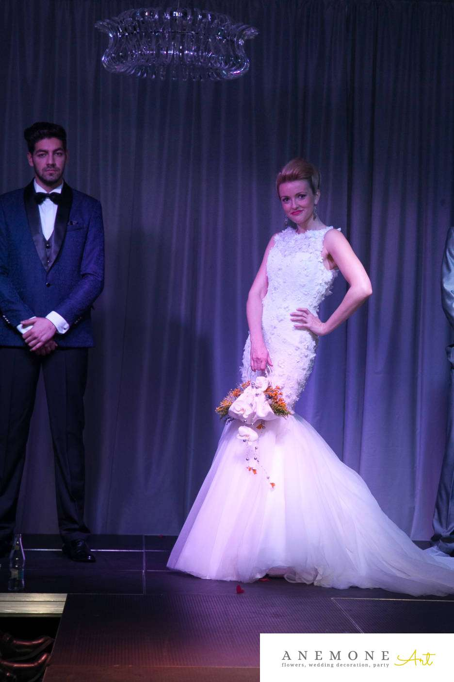 Poza, foto cu Flori de nunta buchet mireasa, galben, orhidee, phalaenopsis, poseta in Arad, Timisoara, Oradea (wedding flowers, bouquets) nunta Arad, Timisoara, Oradea