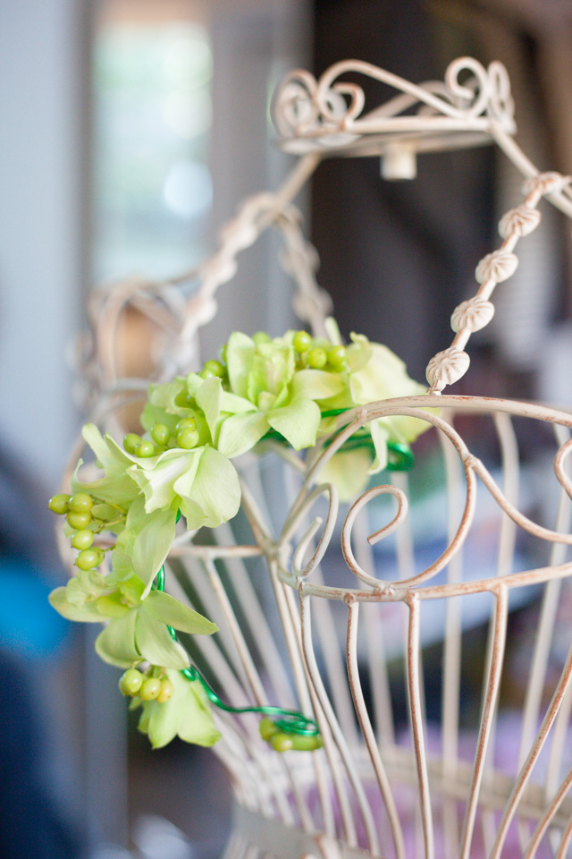 Poza, foto cu Flori de nunta aranjament par, verde in Arad, Timisoara, Oradea (wedding flowers, bouquets) nunta Arad, Timisoara, Oradea
