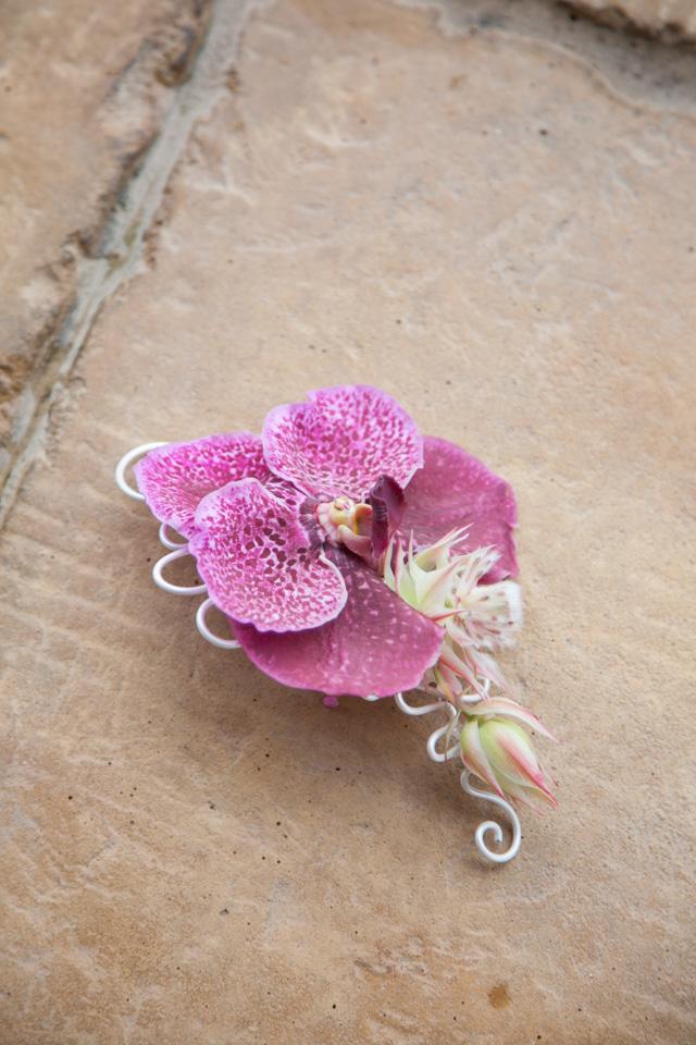 Poza, foto cu Flori de nunta aranjament par, orhidee, vanda in Arad, Timisoara, Oradea (wedding flowers, bouquets) nunta Arad, Timisoara, Oradea