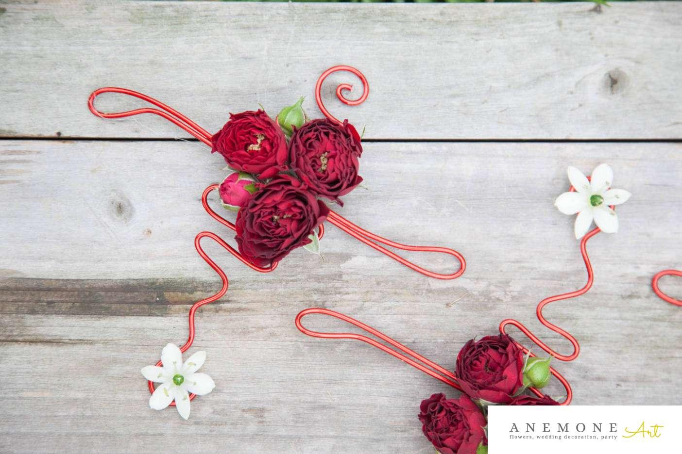 Poza, foto cu Flori de nunta bratara, mini-rosa in Arad, Timisoara, Oradea (wedding flowers, bouquets) nunta Arad, Timisoara, Oradea