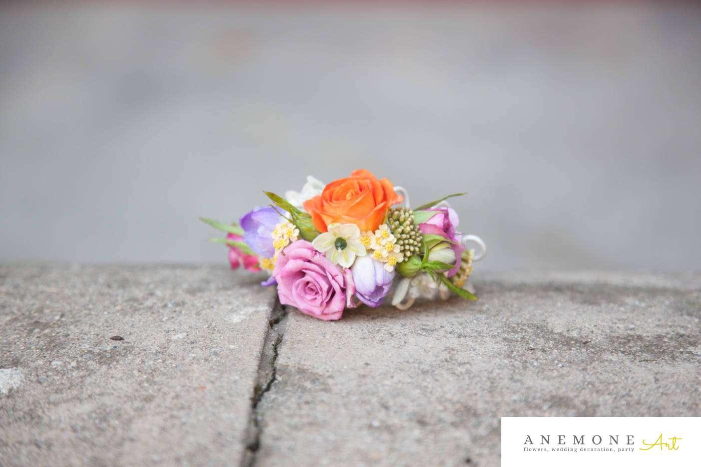 Poza, foto cu Flori de nunta bratara in Arad, Timisoara, Oradea (wedding flowers, bouquets) nunta Arad