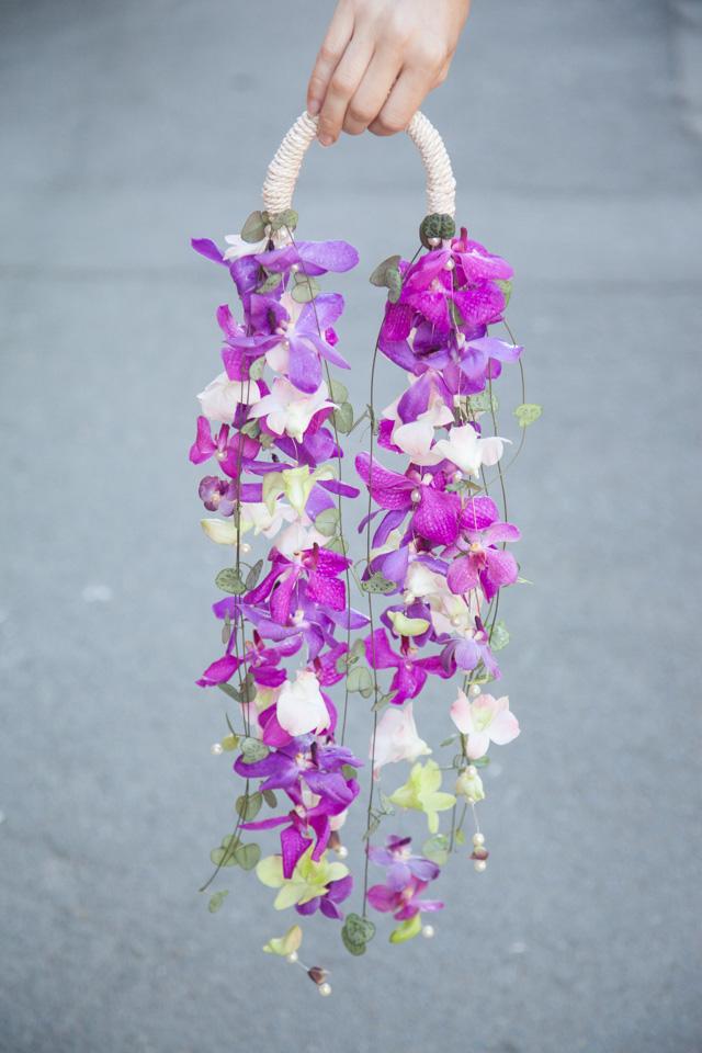 Poza, foto cu Flori de nunta buchet mireasa, modern, mokara, mov, orhidee, ticlam in Arad, Timisoara, Oradea (wedding flowers, bouquets) nunta Arad, Timisoara, Oradea