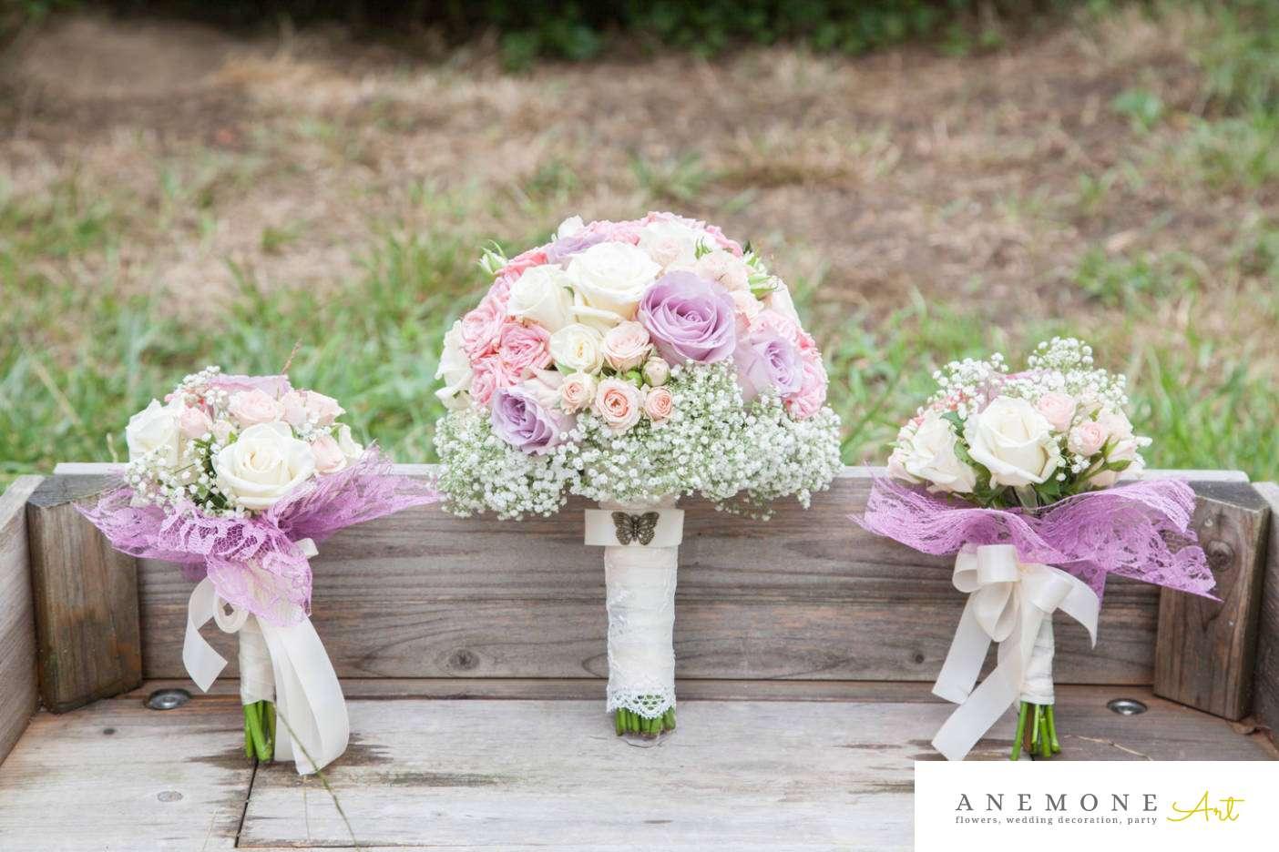Poza, foto cu Flori de nunta buchet domnisoara, buchet mireasa, maner buchet in Arad, Timisoara, Oradea (wedding flowers, bouquets) nunta Arad, Timisoara, Oradea