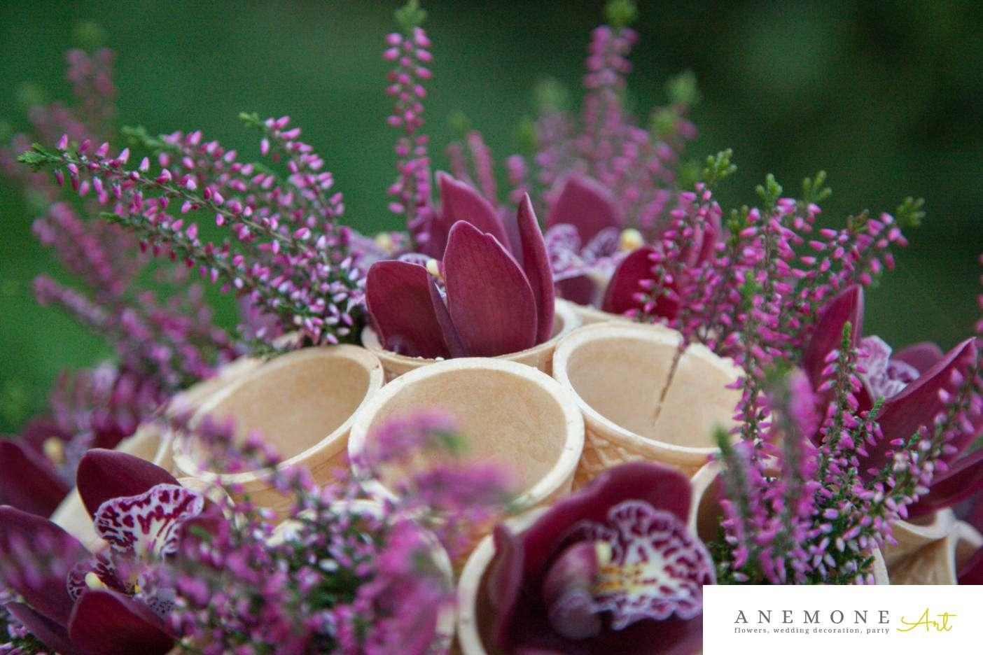 Poza, foto cu Flori de nunta buchet flori, cymbidium, detaliu, orhidee in Arad, Timisoara, Oradea (wedding flowers, bouquets) nunta Arad, Timisoara, Oradea