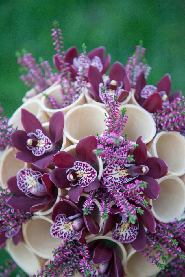 Poza, foto cu Flori de nunta buchet flori, cymbidium, orhidee in Arad, Timisoara, Oradea (wedding flowers, bouquets) nunta Arad, Timisoara, Oradea