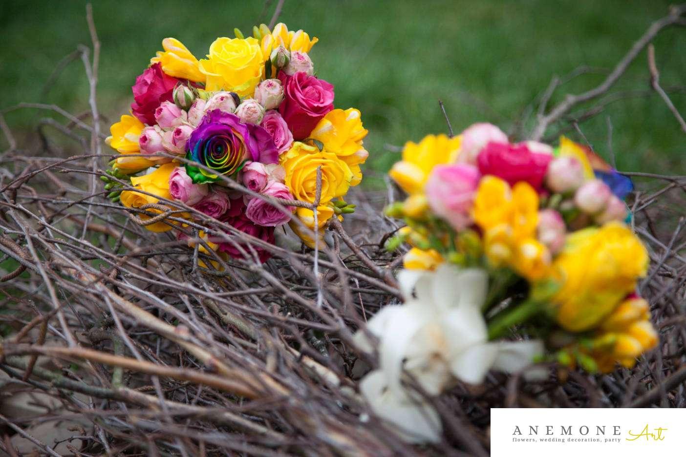 Poza, foto cu Flori de nunta buchet domnisoara in Arad, Timisoara, Oradea (wedding flowers, bouquets) nunta Arad