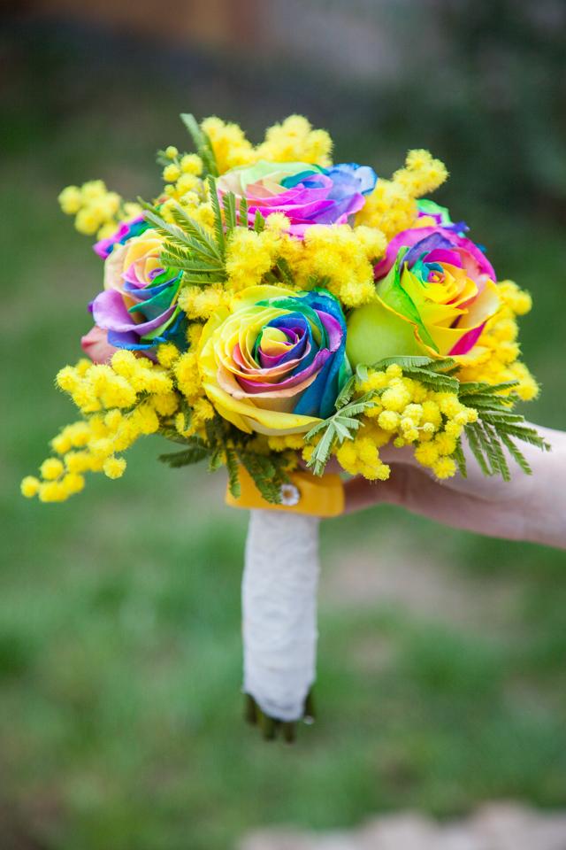 Poza, foto cu Flori de nunta buchet nasa, multicolor, rotund in Arad, Timisoara, Oradea (wedding flowers, bouquets) nunta Arad, Timisoara, Oradea