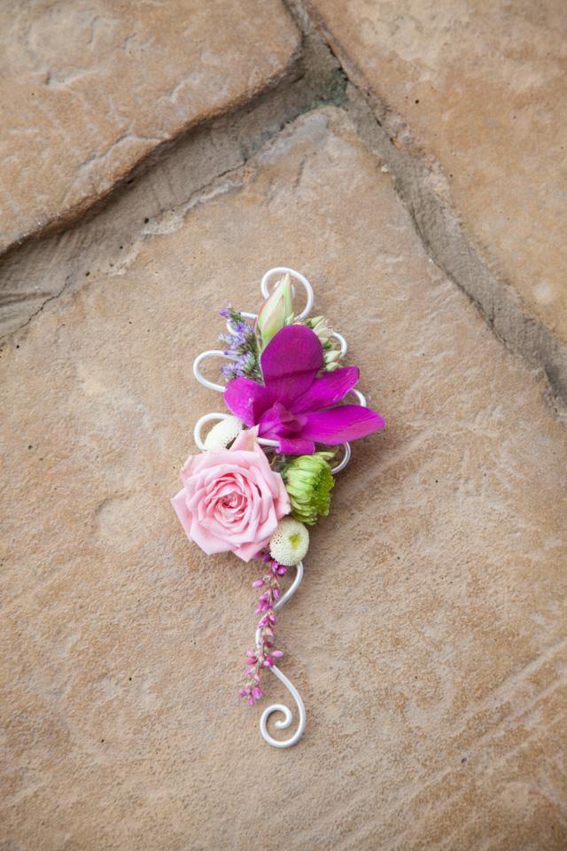 Poza, foto cu Flori de nunta cocarda, dendrobium, orhidee in Arad, Timisoara, Oradea (wedding flowers, bouquets) nunta Arad, Timisoara, Oradea