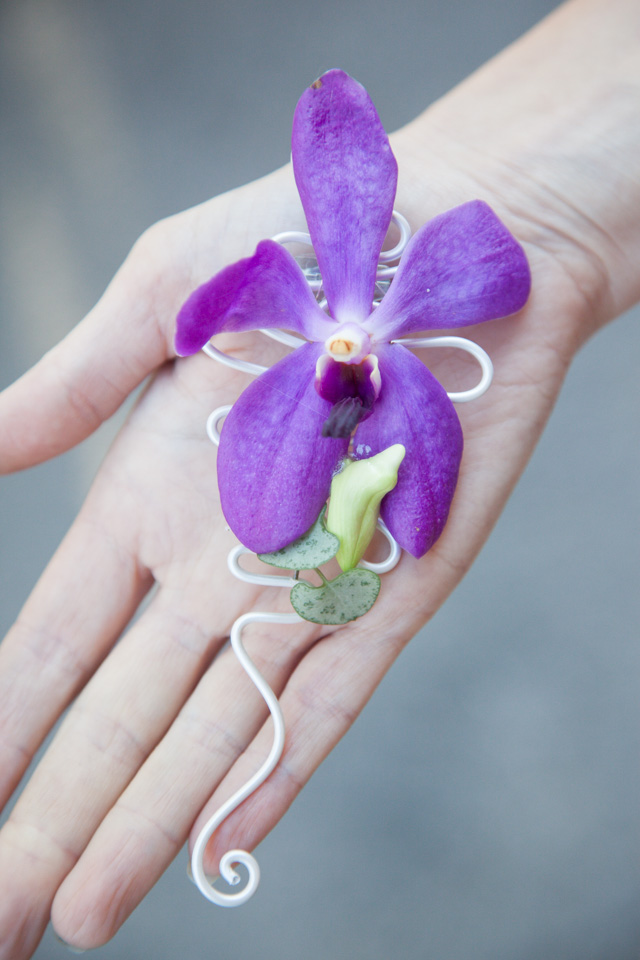 Poza, foto cu Flori de nunta cocarda, orhidee in Arad, Timisoara, Oradea (wedding flowers, bouquets) nunta Arad