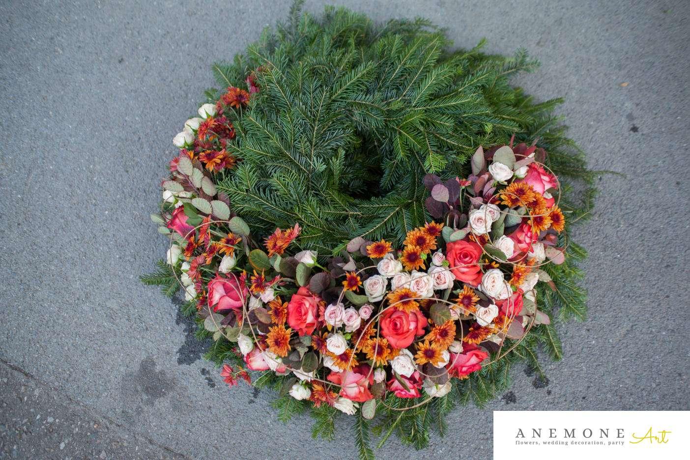 Poza, foto cu Flori de nunta aranjament funerar, coroana funerara in Arad, Timisoara, Oradea (wedding flowers, bouquets) nunta Arad, Timisoara, Oradea