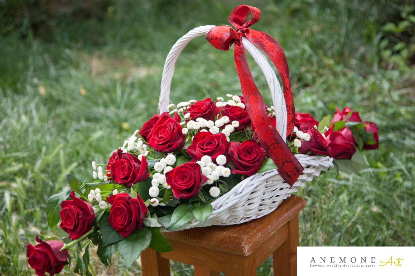 Poza, foto cu Flori de nunta cos flori in Arad, Timisoara, Oradea (wedding flowers, bouquets) nunta Arad, Timisoara, Oradea