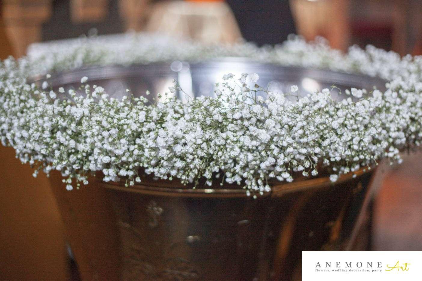 Poza, foto cu Flori de nunta cristelnita, gipsofila in Arad, Timisoara, Oradea (wedding flowers, bouquets) nunta Arad, Timisoara, Oradea