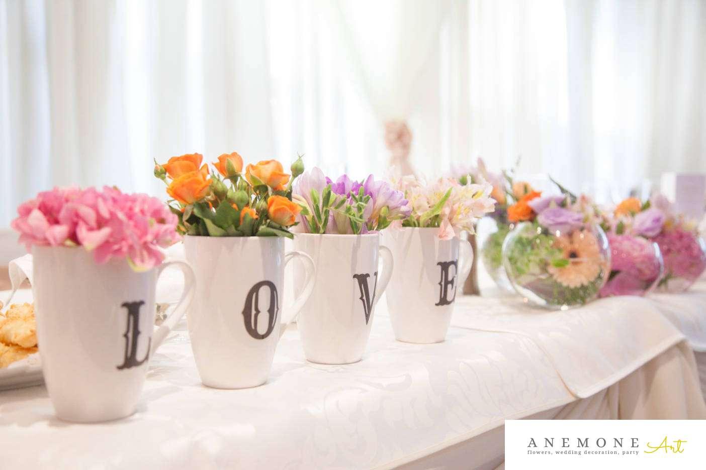 Poza, foto cu Flori de nunta hotel continental, piersica, prezidiu, roz in Arad, Timisoara, Oradea (wedding flowers, bouquets) nunta Arad, Timisoara, Oradea