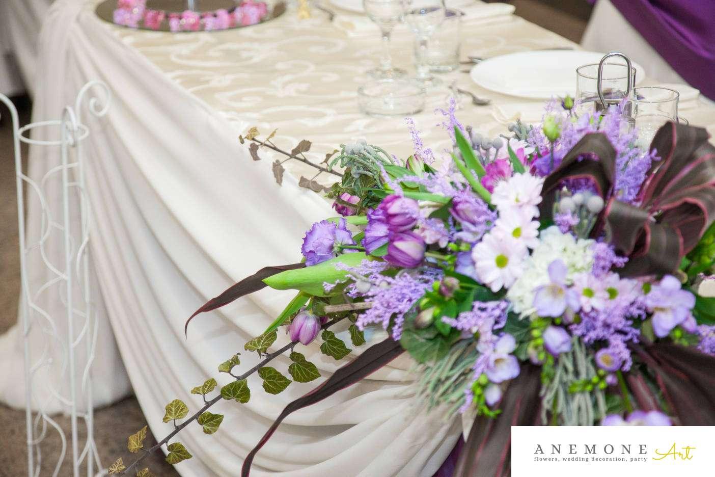 Poza, foto cu Flori de nunta prezidiu in Arad, Timisoara, Oradea (wedding flowers, bouquets) nunta Arad