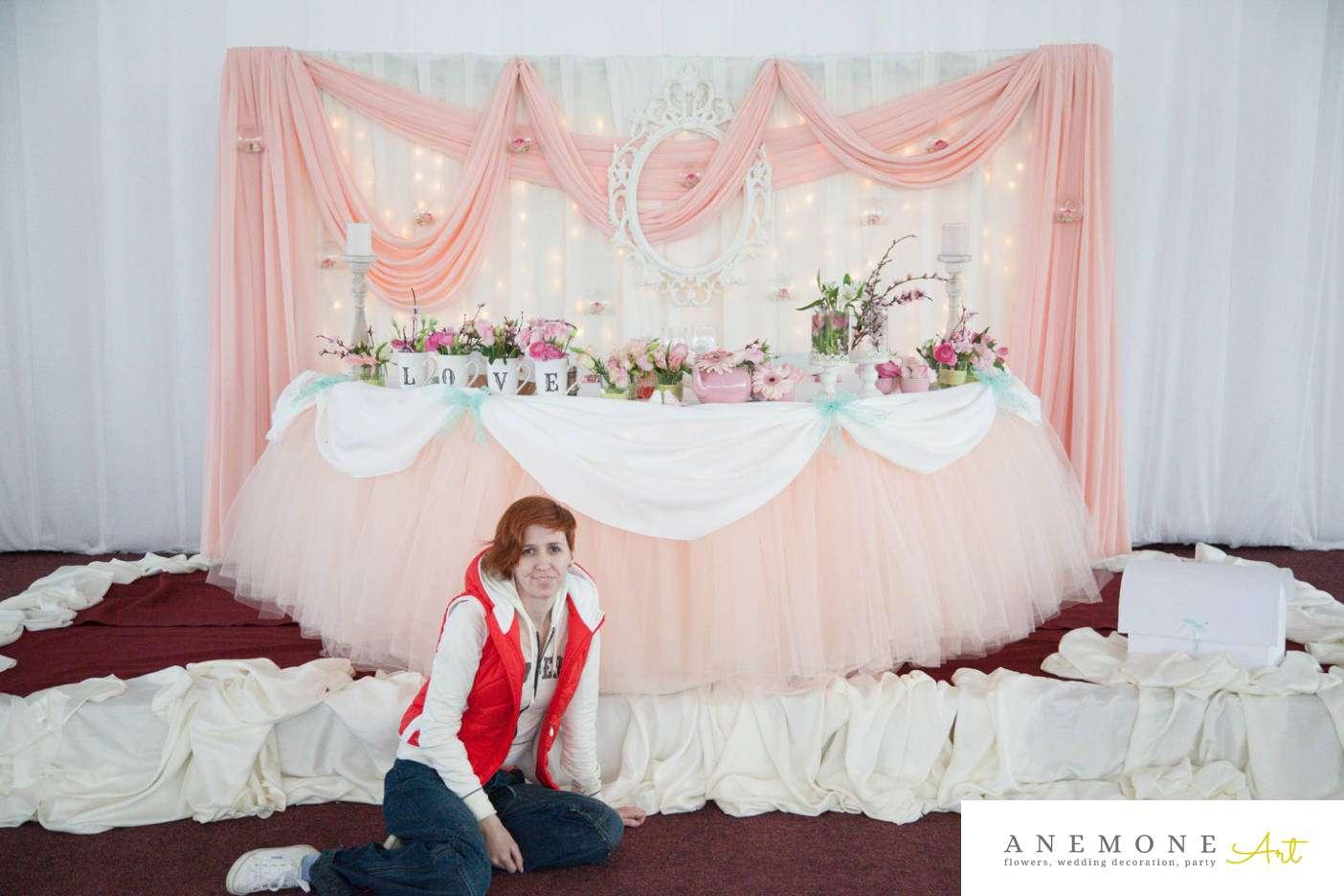 Poza, foto cu Flori de nunta prezidiu in Arad, Timisoara, Oradea (wedding flowers, bouquets) nunta Arad, Timisoara, Oradea
