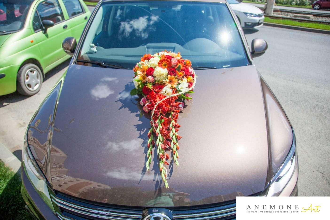 Poza, foto cu Flori de nunta decor masina, multicolor in Arad, Timisoara, Oradea (wedding flowers, bouquets) nunta Arad, Timisoara, Oradea