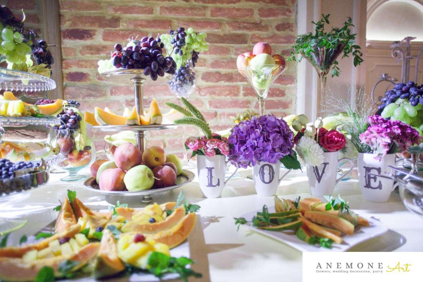 Poza, foto cu Flori de nunta decor candy bar, decor sala, vila carol in Arad, Timisoara, Oradea (wedding flowers, bouquets) nunta Arad, Timisoara, Oradea