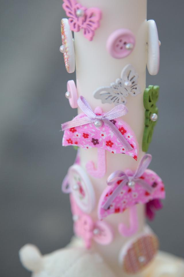 Poza, foto cu Flori de nunta detaliu, lumanare botez in Arad, Timisoara, Oradea (wedding flowers, bouquets) nunta Arad, Timisoara, Oradea