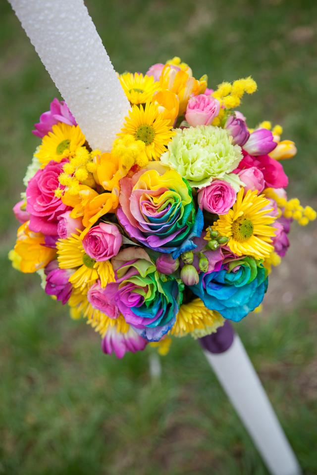Poza, foto cu Flori de nunta lumanare cununie in Arad, Timisoara, Oradea (wedding flowers, bouquets) nunta Arad