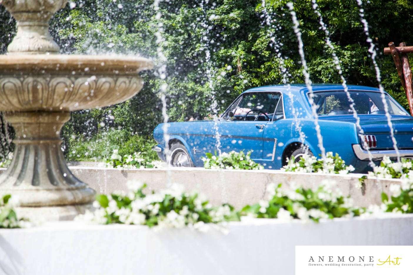 Poza, foto cu Flori de nunta decor sala, fantana in Arad, Timisoara, Oradea (wedding flowers, bouquets) nunta Arad, Timisoara, Oradea